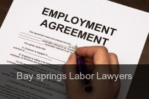 Bay springs Labor Lawyers