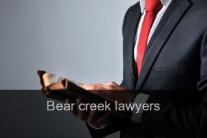 Bear creek Lawyers
