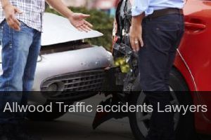 Allwood Traffic accidents Lawyers