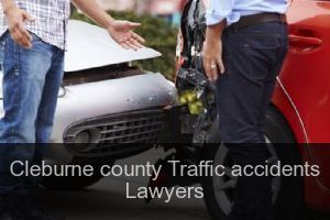Cleburne county Traffic accidents Lawyers