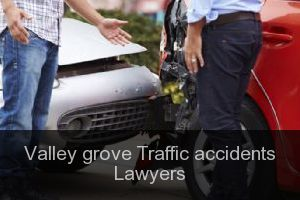 Valley grove Traffic accidents Lawyers